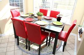 cheap red dining table and chairs arlaisvail win page 7 rustic modern dining chairs white country
