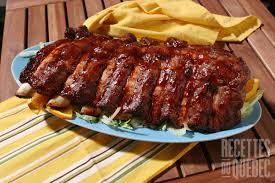 comment cuisiner le plat de cote côtes levées style st hubert recettes du québec
