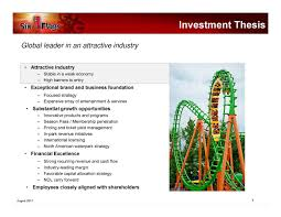 St Louis Six Flags Prices Six Flags Entertainment Six Presents At The Oppenheimer U0026 Co
