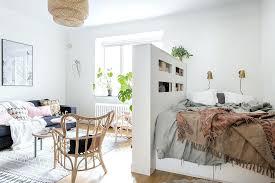 Studio Apartment Room Dividers Studio Apartment With Half Wall Room