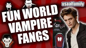 spirit halloween fangs fun world vampire fangs howto episode 7 unboxing everything