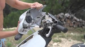 piaggio fly headlight handlebar cover removal youtube