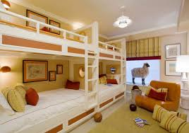 Four Bunk Bed Boys Bunk Beds Transitional Boy S Room Willey Design