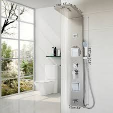 High End Shower Fixtures Aliexpress Com Buy Bathroom Fashion Luxury Shower Column Shower