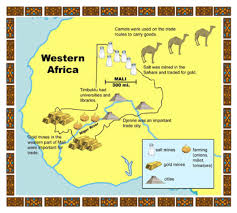 Mali Map Africa by Copy Of Empires Of West Africa By Ashbra3649