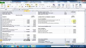 Project Finance Term Sheet Exle by Financial Statement Balance Sheet In Microsoft Excel Excel