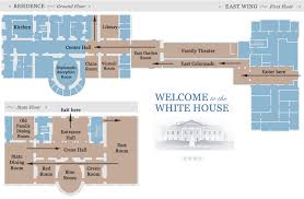Floor Plan Of White House White House Tours 2017 Tickets Maps And Photos