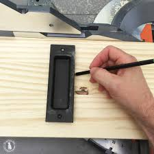 Barn Door Store by How To Add A Lock To Your Barn Door The Handmade Home