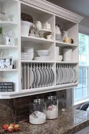 Wood Shelf Gallery Rail by 65 Ideas Of Using Open Kitchen Wall Shelves Shelterness