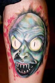25 creepy horror tattoos