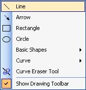 how to draw rectangle circle and basic shape on pdf page