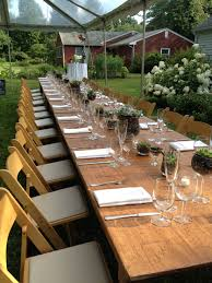 tent rentals ma intimate backyard wedding clear top tent rustic farm tables