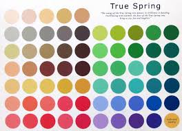 spring color the true spring color pallet please do take in to consideration