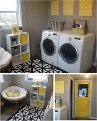 Decor For Laundry Room by Gray Yellow Laundry Room Things I Love Pinterest Yellow