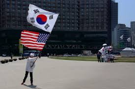 How To Draw The Korean Flag In South Korea U0027s Presidential Election A Referendum On U S