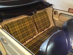 1974 volkswagen thing interior thesamba com thing type 181 view topic thing shop plaid