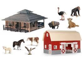 Toy Barn With Farm Animals Wild Life Animal Nursery And Farm Life Barn