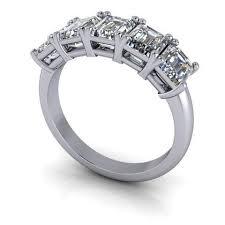 ring diamond wedding lab grown diamond rings diamond alternative rings
