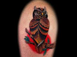 55 traditional owl tattoos ideas