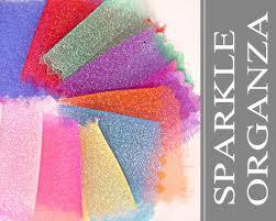 50 yard roll sparkle organza fabric wholesale