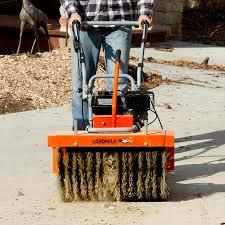 Patio Broom by Yardmax Yp7065 Power Sweeper 28