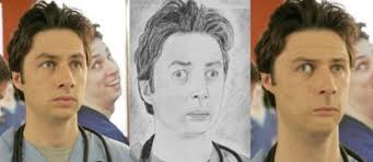 pictures of celebrities photoshopped to match fan art sketches