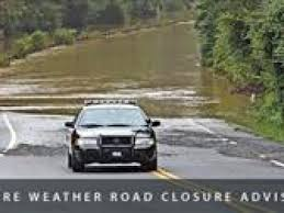 mercedes roswell road flash flooding forces roswell road closure monday morning