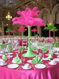 ostrich feather centerpieces popular hot pink ostrich feather centerpiece for wedding party