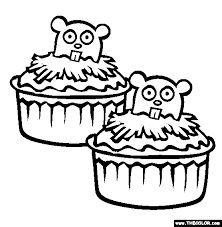 groundhog day online coloring pages page 1