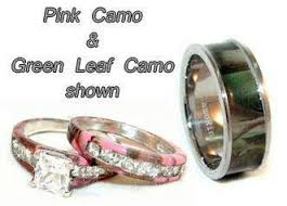 his and camo wedding rings 43 best wedding images on camo rings camo wedding