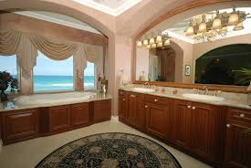 houses bathroom ocean view bath sink counters dual monitor