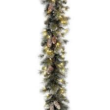 lighted christmas tree garland christmas garlands you ll love wayfair