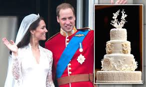 wedding cake kate middleton prince william and duchess of cambridge kate middleton are