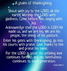 psalm 100 1 5 shout with to the lord all the earth worship