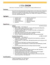 Mcdonalds Resume Sample by Home Design Ideas Hospitality Resume Example