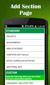 Mobile Resume Maker Easy Resume Builder Cv Jobs Resume Maker Free Android Apps On