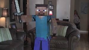 Minecraft Herobrine Halloween Costume Minecraft Steve Dancing Epic Creeper Song Costume