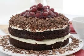 easy black forest cake chocolate cherries u0026 cream bake play smile