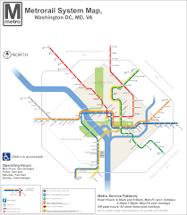 Dc Metro Bus Map by Dc Metro Map Dc Transit Guide