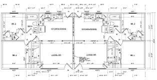 Duplex Plan Ranch Duplex