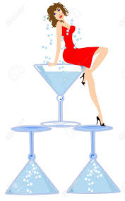 martini glasses vector free woman with glasses clipart images collection