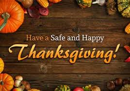 a safe and happy thanksgiving homeland security
