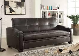 woodbridge home designs furniture review homelegance caffrey elegant lounger sofa bed dark brown 4829db