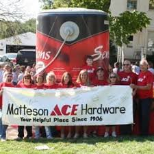 matteson ace hardware hardware stores 221 bedford rd morris