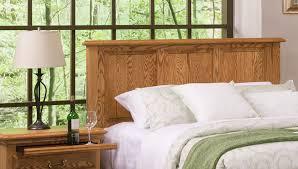 Wood Panel Headboard Bedroom Furniture American Heritage Panel Headboard American Made