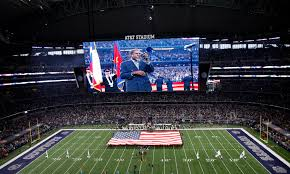 the dallas cowboys awesome trumpeter shows how a national anthem