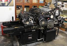 printing and writing paper printing the old fashioned way in berkeley california matt s today printing and publishing on paper is a statement in and of itself but going to the extreme of printing how our great grandfathers did is something so
