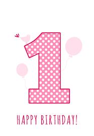 1st birthday baby girl 1st birthday free printable birthday card greetings island
