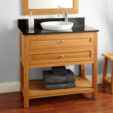 Bamboo Bathroom Vanities by Bamboo Vanity Cabinet Bathroom Designs For Small Spaces Narrow