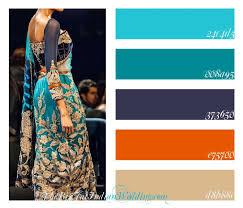 colour schemes with orange and turquoise google search dining